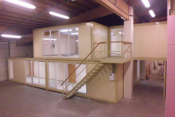 Budynki modułowe, prefabrykowane budynki modułowe typu kontenerowego