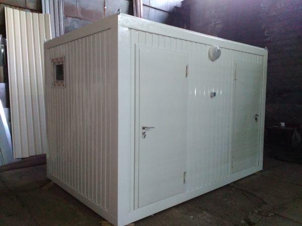 Moduł sanitarny, instalacja kontenerów sanitarnych pod klucz
