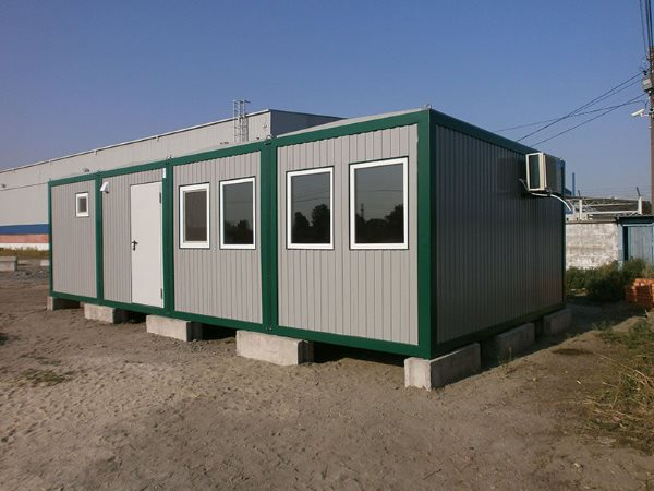 Mobilne biuro, prefabrykowane budynki biurowe