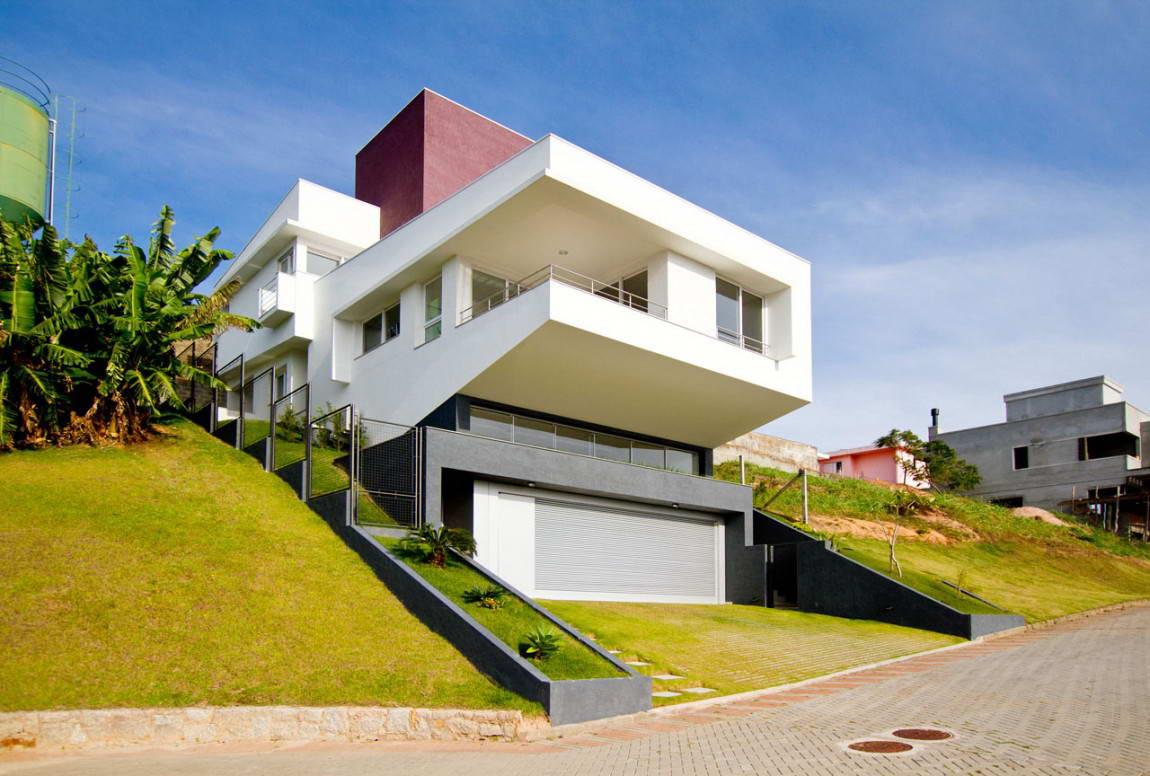 Budowa domu na zboczu