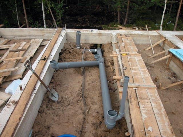 Instalacja kanalizacji w domu modułowym
