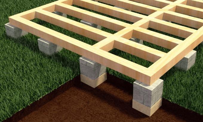 Fundamenty dla kabin modułowych