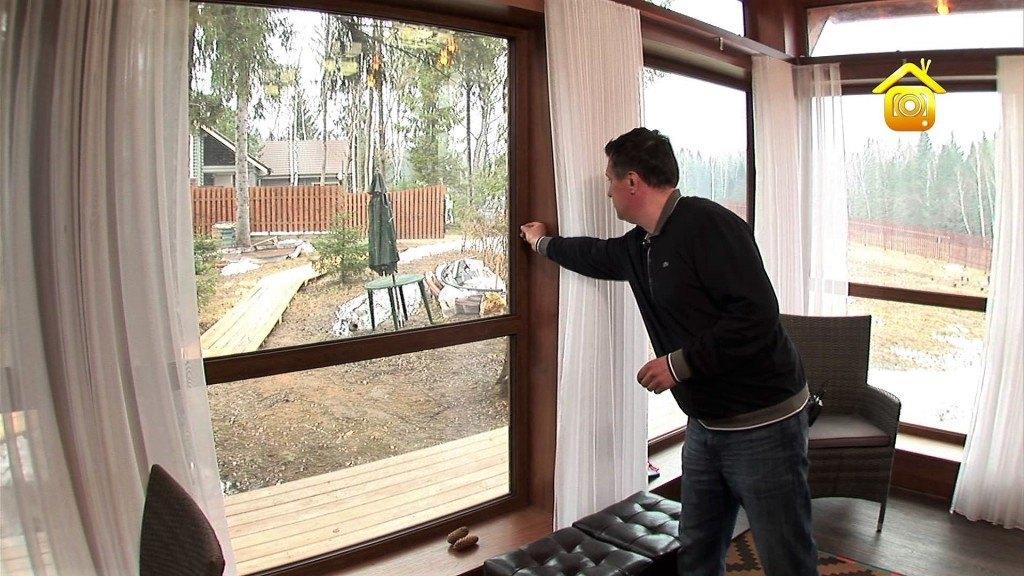 Okna plastikowe w prywatnym domu
