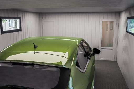 Modułowe garaże