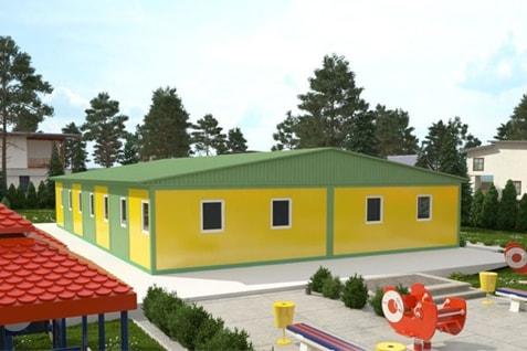 Modułowe przedszkola