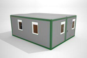 Prefabrykowane modułowe szpitale