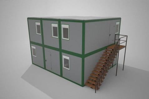 Biura modułowe, biura z kontenerów
