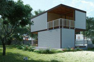 Prefabrykowane budynki modułowe, Domy z kontenerów, Budynki kontenerowe