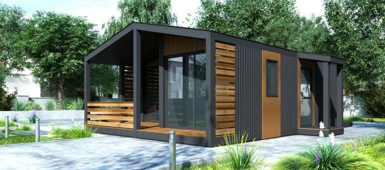 Prefabrykowane domy modułowe