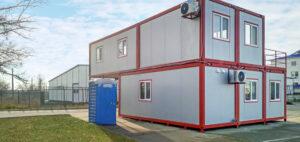 kontenery biurowe 116 m2