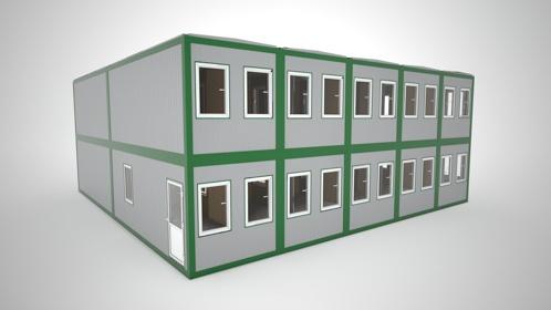 Budynki modułowe