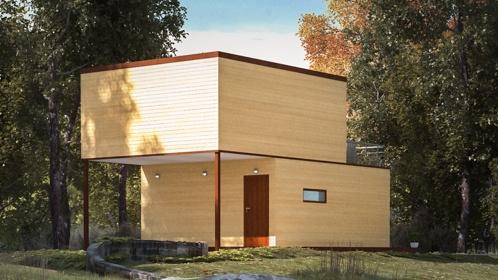 Modułowy typ budynku