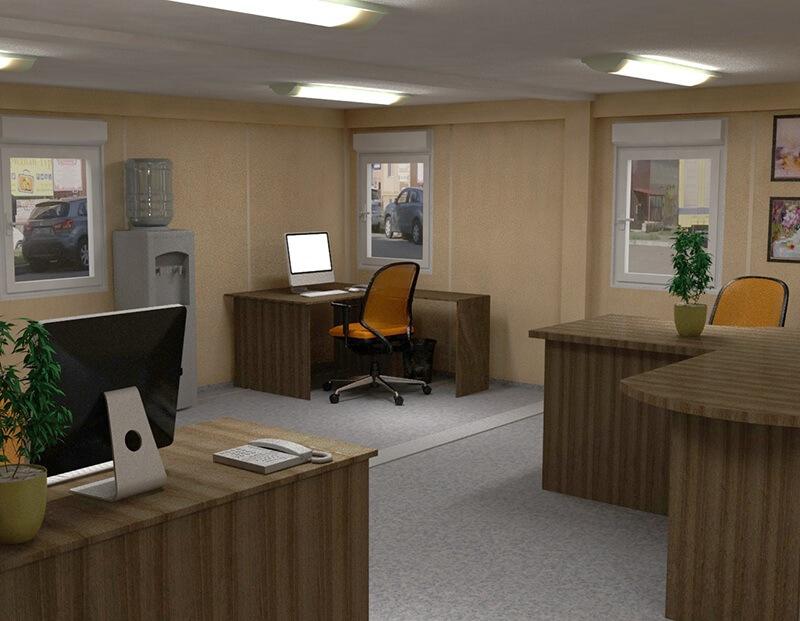 Modułowe urządzenia biurowe